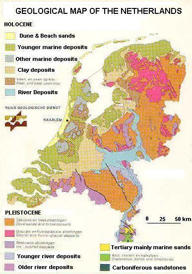 Netherlands Geology